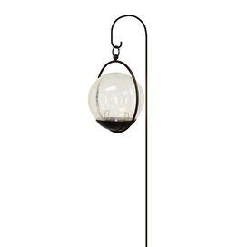 Crackle Hanging Globe Light