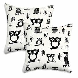 Hoot Owl Pillow (Set of 2)