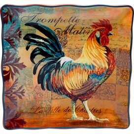 Rustic Rooster Platter