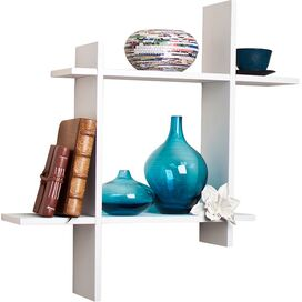 Aravind Wall Shelf in White