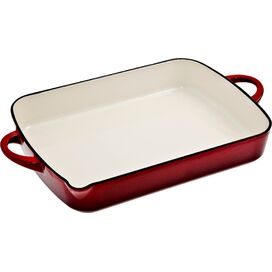 Denby Baking Dish with Pouring Edge in Cherry