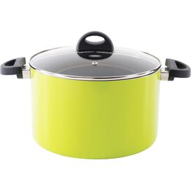 Eclipse Stock Pot in Lime
