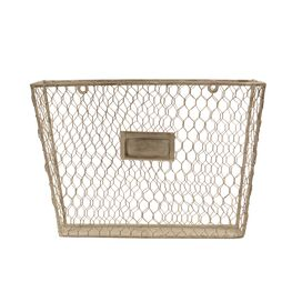Metal File Basket