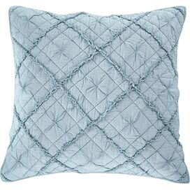 Zara Pillow Sham in Pacific Blue