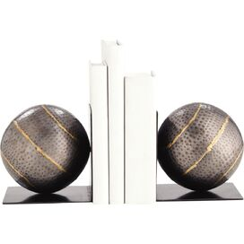 Gauge Hammered Iron Bookends, ARTERIORS
