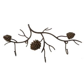 Pinecone Wall Rack