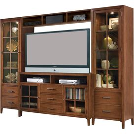 Maxwell Media Console in Brown
