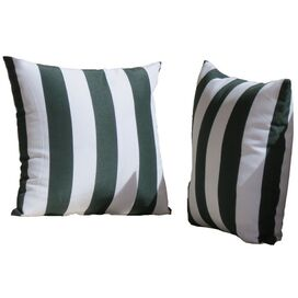 Leonard Indoor/Outdoor Throw Pillow in Green (Set of 2)