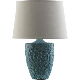 Thandi Table Lamp in Teal