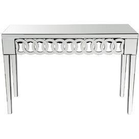 Ayla Mirrored Console Table