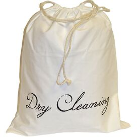 Dry Cleaning Drawstring Bag