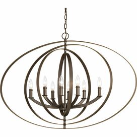 Elliott Chandelier in Antique Bronze