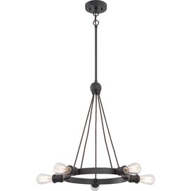 Tamryn Mini Chandelier in Aged Bronze