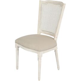 Malia Side Chair in Beige