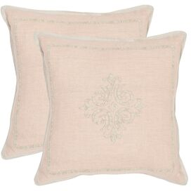 Fiona Embroidered Pillow (Set of 2)
