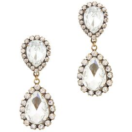 Abba Earrings in Crystal