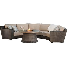 4-Piece San Rafael Fire Pit Seating Group