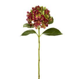 Faux Red Hydrangea (Set of 6)
