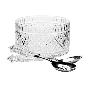 3-Piece Dublin Crystal Salad Server Set