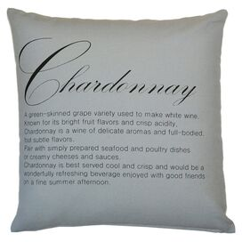Chardonnay Pillow in Slate