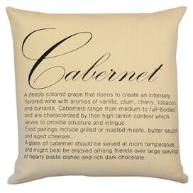 Cabernet Pillow