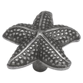 South Seas Cabinet Knob in Vibra Pewter