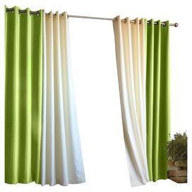 Gabrielle Indoor/Outdoor Curtain Panel in Green
