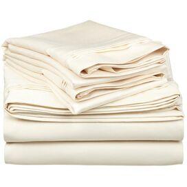 4-Piece Soho Egyptian Cotton Sheet Set in Ivory