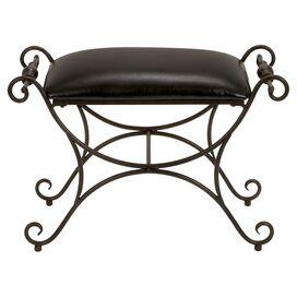 Lyon Leather Bench