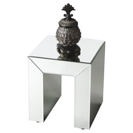 Escher Mirrored Side Table
