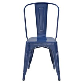 Amelia Side Chair in Blue