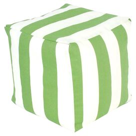 Brielle Indoor/Outdoor Pouf in Sage