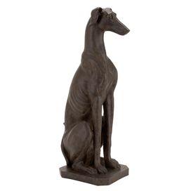 Regal Greyhound Garden Statuette