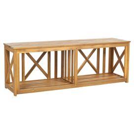 Yorke Patio Acacia Bench