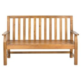 Indaka Indoor/Outdoor Acacia Bench