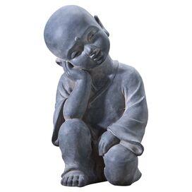 Thinking Buddha Garden Statue