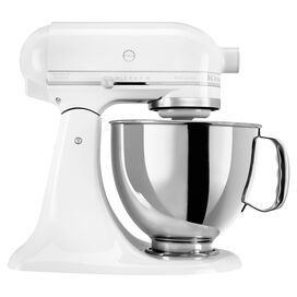 KitchenAid 5-Quart Artisan Stand Mixer in White