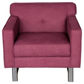 Cooper Arm Chair in Claret