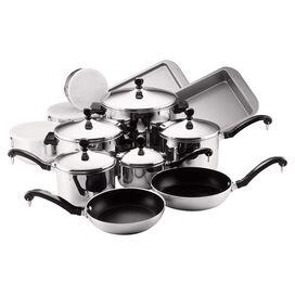 Farberware 17-Piece Stainless Steel Kitchenware Set