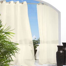 Erica Indoor/Outdoor Curtain Panel in Natural