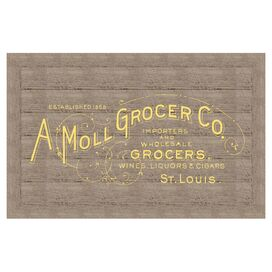 Grocers Wall Decor