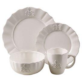 16-Piece Fleur Dinnerware Set
