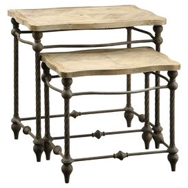 2-Piece Lola Nesting Table Set