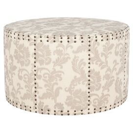 Cimmaron Upholstered Cocktail Ottoman
