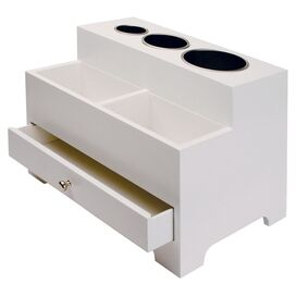 Vanity Organizer in White