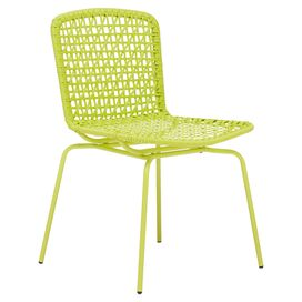 Kylie Indoor/Outdoor Chair in Lime