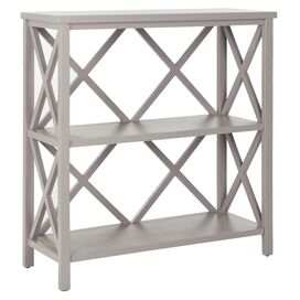 Cameron Bookcase in Distressed Gray