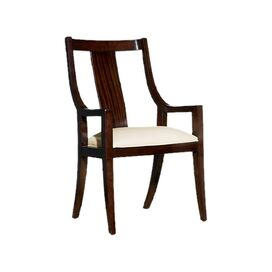Wilshire Leather Arm Chair (Set of 2)