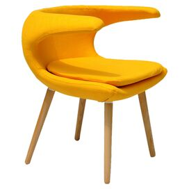 Clipper Accent Chair in Yellow