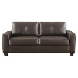 Oakwood Tufted Leather Sofa